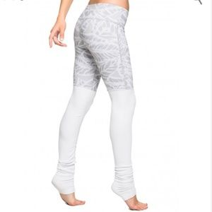 ALO | gray and white leggings